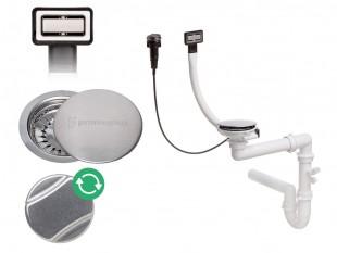 Der automatische rechteckig Raumsparsiphon für Spüle
