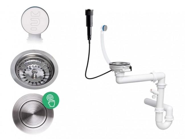 Der automatische Pop-up Raumsparsiphon für Spüle mit verstecktem Überlauf